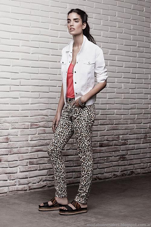 Ayres moda primavera verano 2015 ropa de mujer casual chic.
