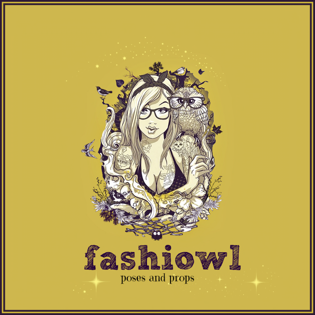 Fashiowl poses and props