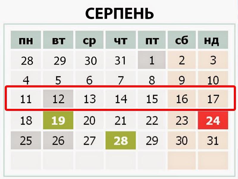 11-17 серпня 2014 - події тижня в Україні