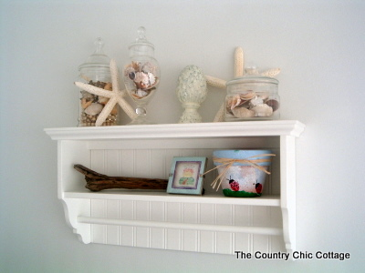 Beach Theme Home Decor for the Bathroom - * THE COUNTRY CHIC
