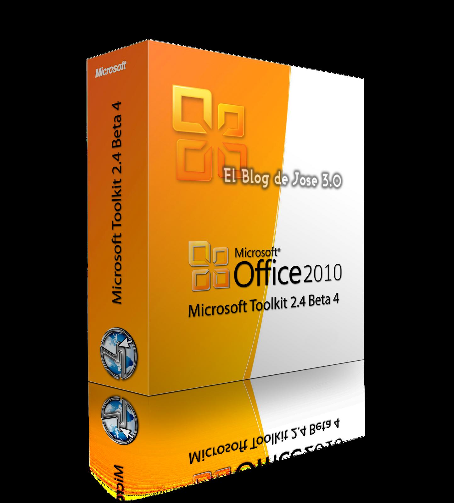 Microsoft Toolkit 2.4 Beta 4 Activa office 2010 & Windows