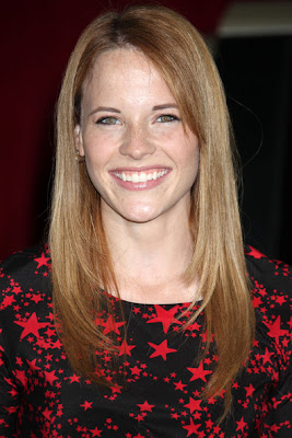 Katie Leclerc Long Straight Cut with Bangs Hairstyle