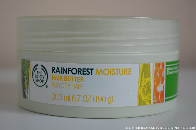 a picture of the body shop rainforest moisture hair butter