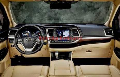 2015 Toyota Highlander Hybrid Space