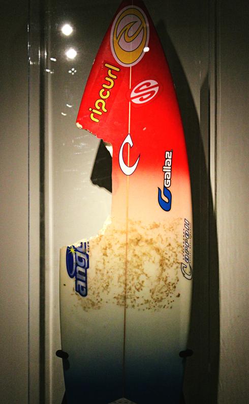 bethany hamilton surfboard california surf museum