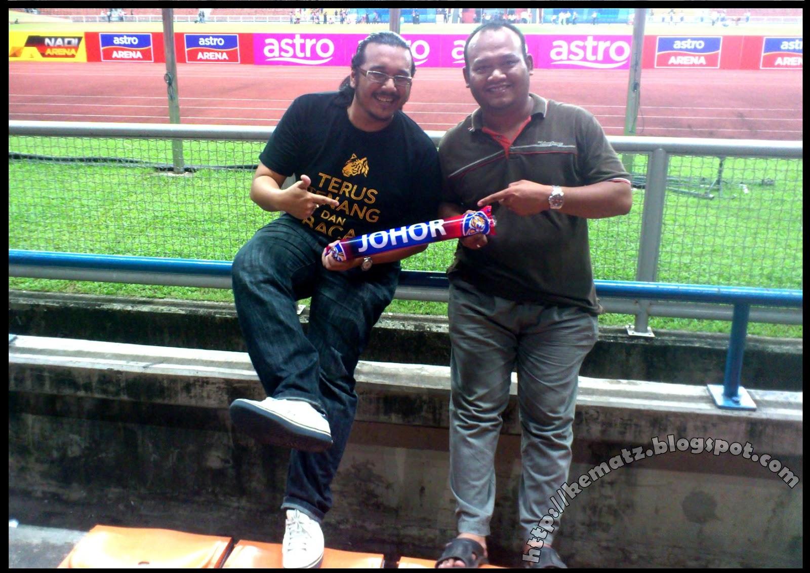 Turun Stadium Layan JDT vs PKNS