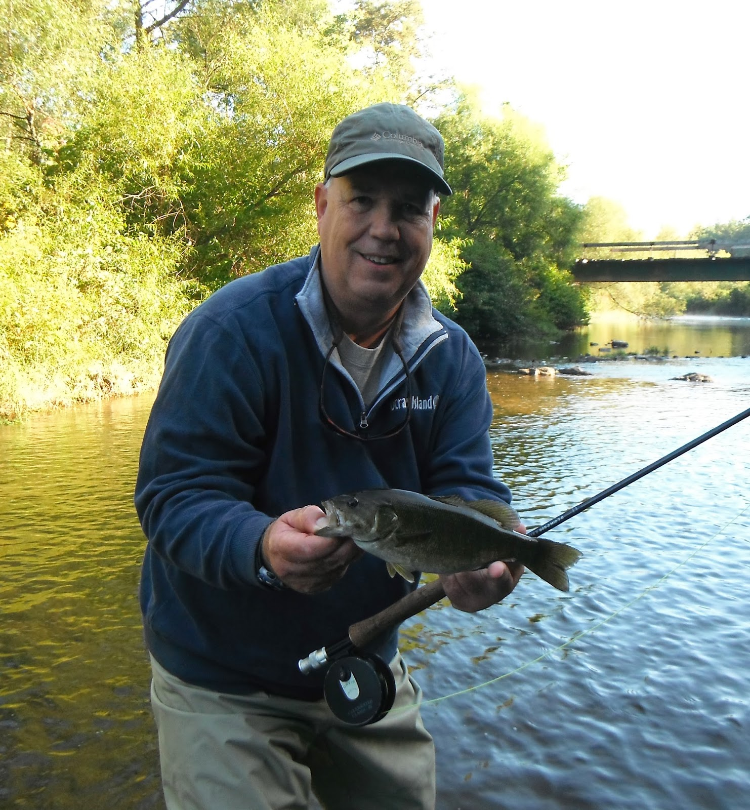 Western maryland fly fishing casselman river over the weekend for Trout fishing maryland
