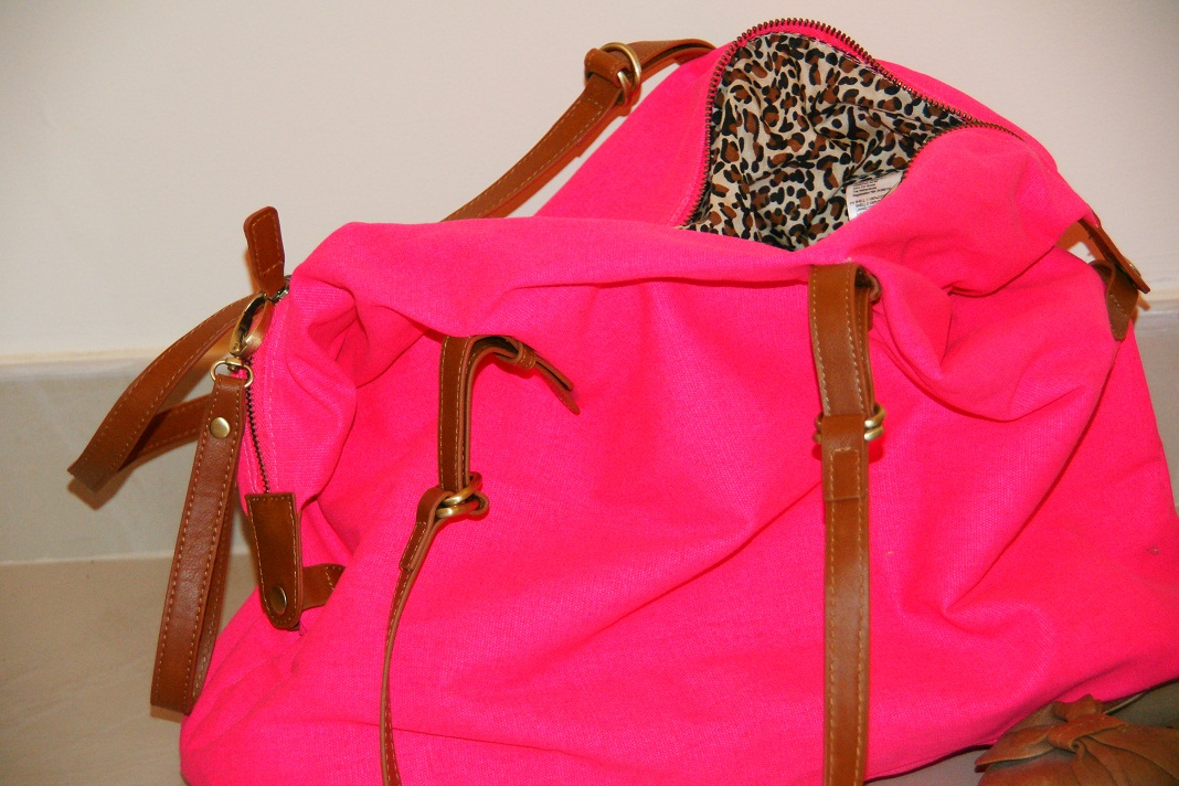 New In: 'Neon Pink Purse'