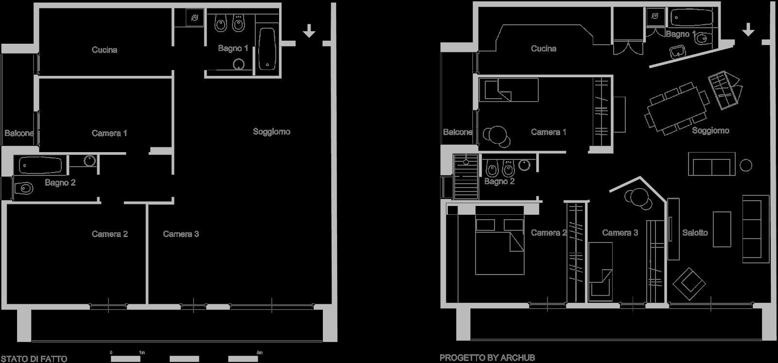 Cucine misure standard latest affordable cool misure - Isola cucina dimensioni minime ...
