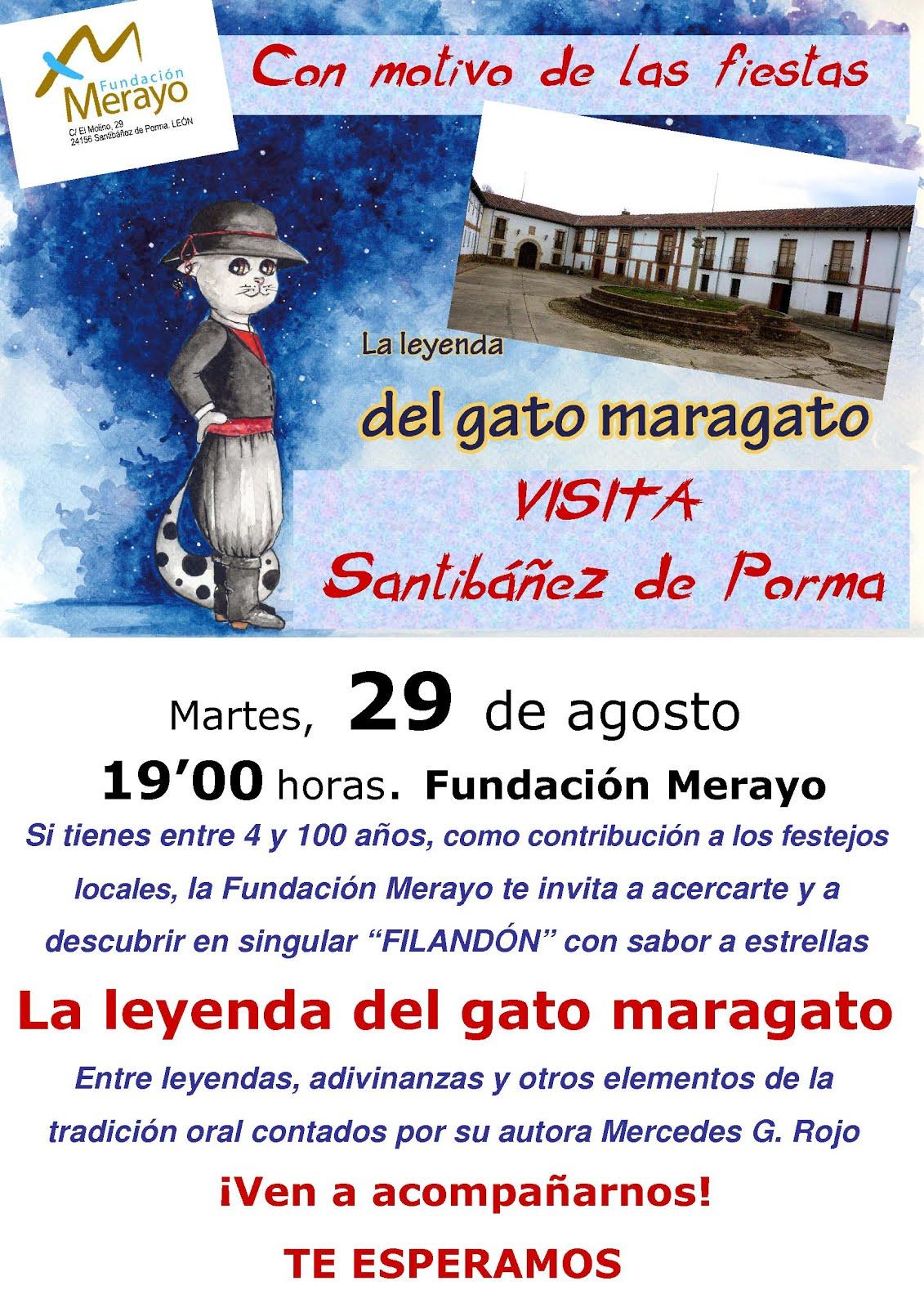 La Fundación Merayo celebra las fiestas de Santibáñez de Porma.