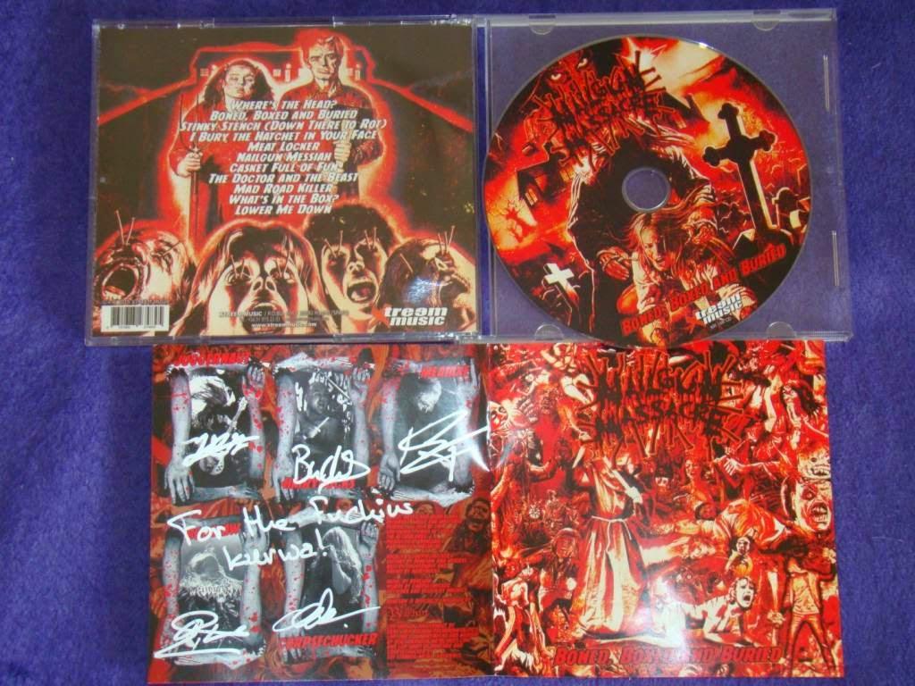 PANZERFAUST zine: Nailgun Massacre - Boned, Boxed and Buried