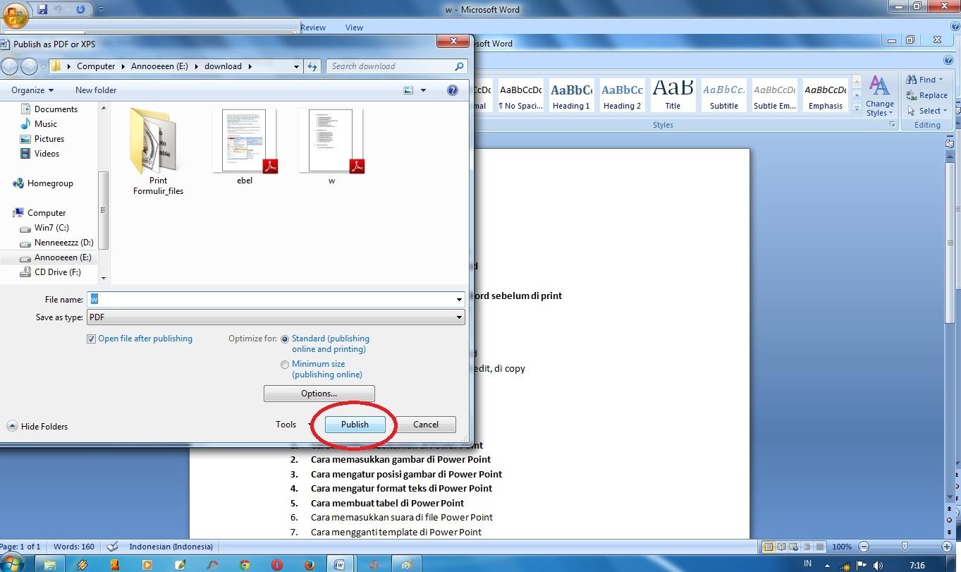 Cara Merubah File Word ke PDF Dengan Mudah dan Cepat
