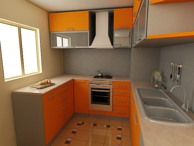 Gentil Modular Kitchen Design For Small Area