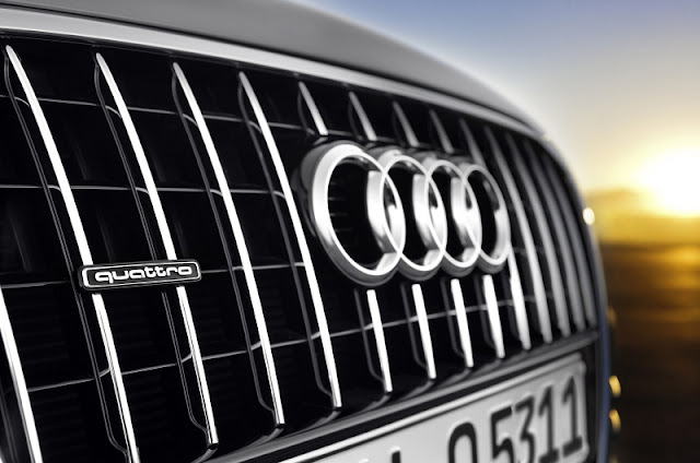 2013 Audi Q5 Facelift front grill