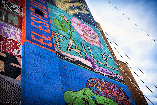 Street Art By Faile On The Streets Of New York City, USA details 3