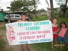 CAMPANHA DO LIXO DO JORNAL TOCHA