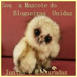MASCOTE BLOGUEIRAS UNIDAS JUNTAS E MISTURADAS.