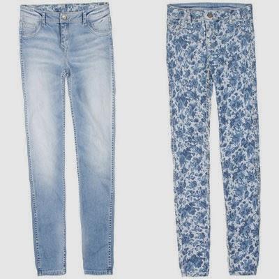 Bershka colección reversible jeans