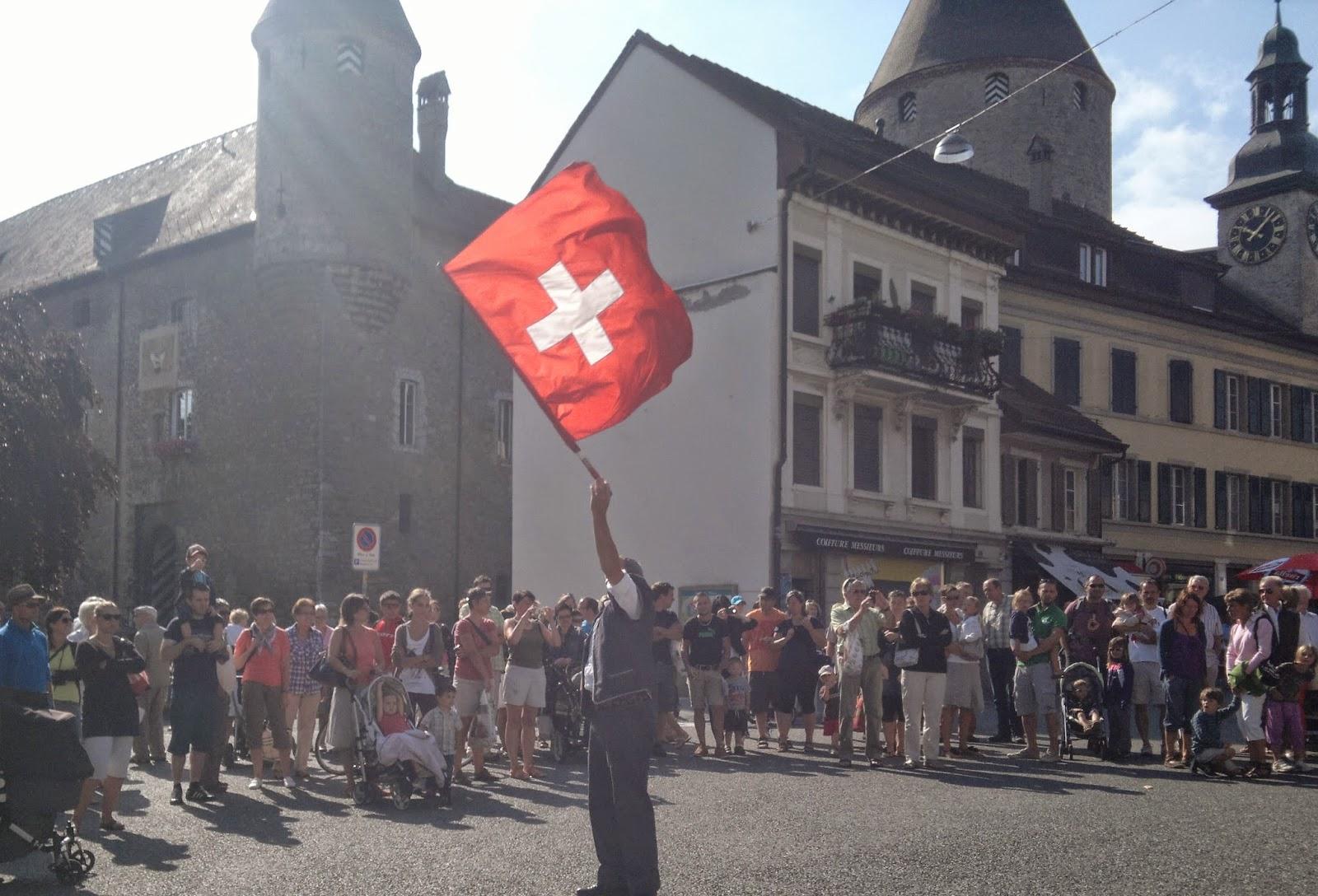 O Correio na Suíça!