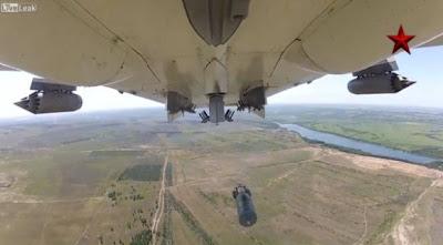 Misi pengeboman Su-24 Fencer