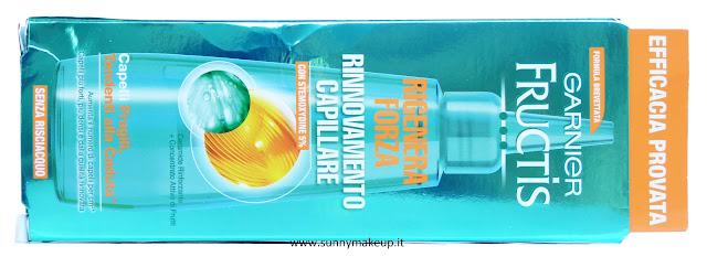 Garnier Fructis - Rigenera Forza. Lozione di rinnovamento capillare.