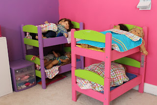 Ikea Duktig bunk bed for dolls