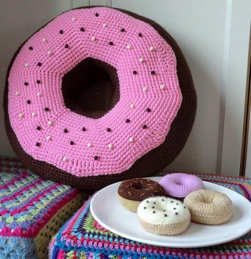 Amigurumi Donut Patron : Bichus Amigurumis: Patron Amigurumi - Donnut XXL