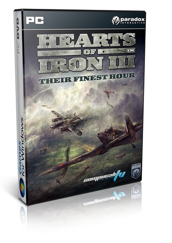 Hearts Of Iron 3 Their Finest Hour PC Full