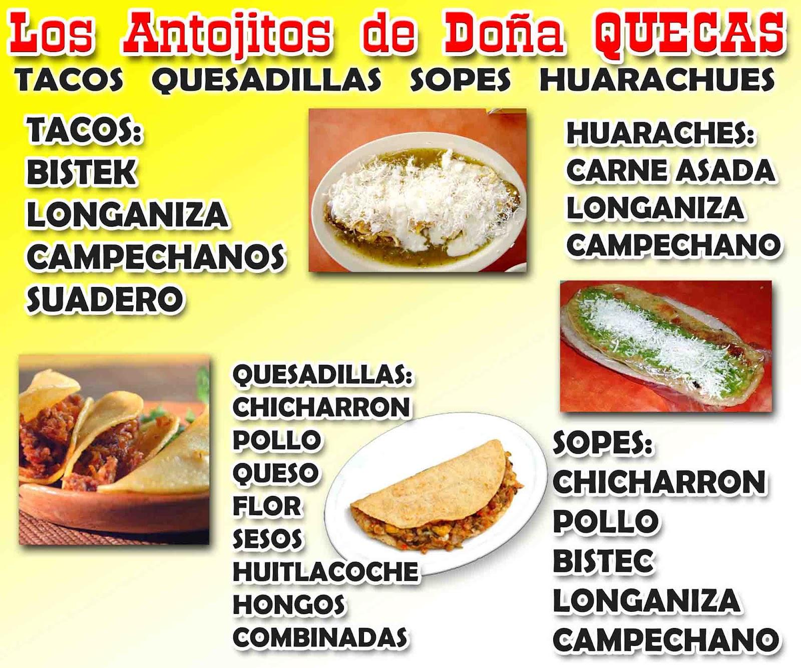 Lonas para antojitos mexicanos - Recursos para impresores y ...