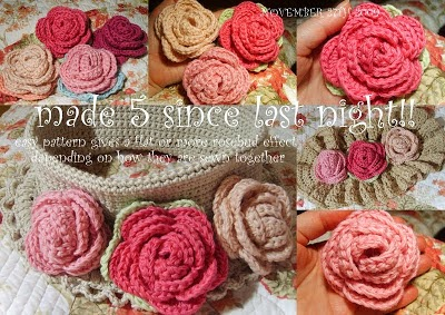Rolled Rose Pattern