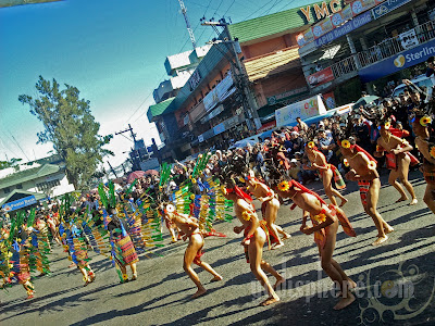 Ethnic Ifugao Dancers wearing Bahag