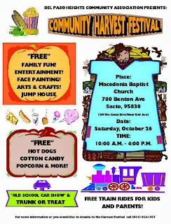 Del Paso Heights Community Association hosts harvest festival this weekend