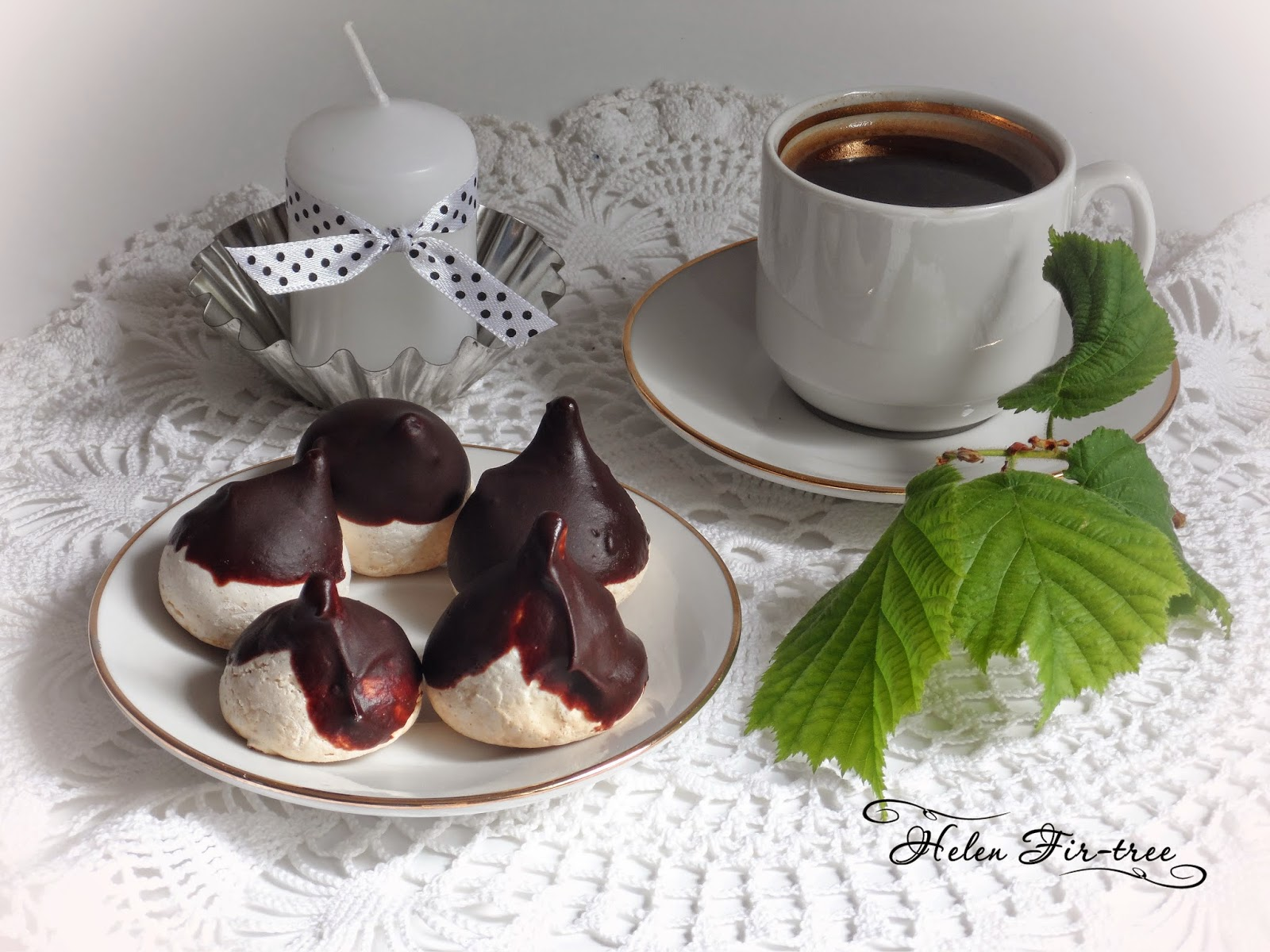 Helen Fir-tree выпечка безе pastries meringues