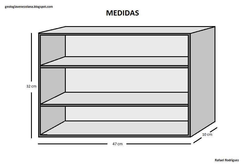 Mueble Para Muestras Geolog A Venezolana