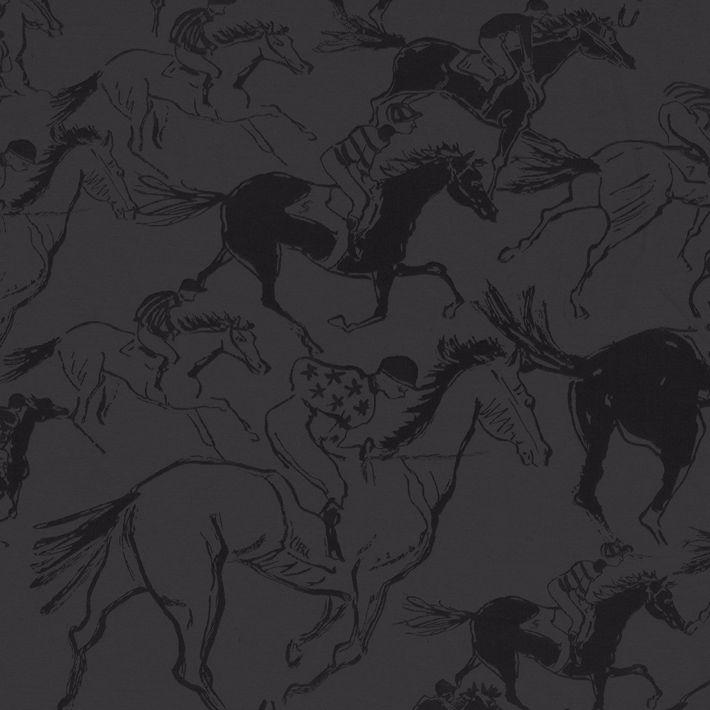 horse country chic hermes wallpaper and fabric collection
