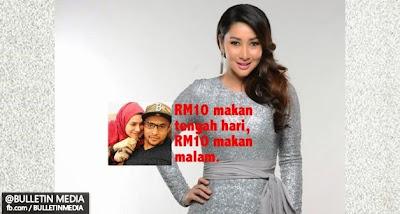 Biar Betul, Aidil Zafuan Hanya Mampu Beri Rita Rudaini RM20 Sehari?..