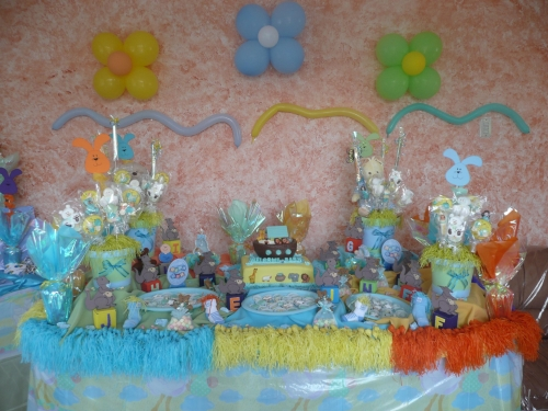 Como adornar un baby shower en casa imagui for Decoracion casa shower