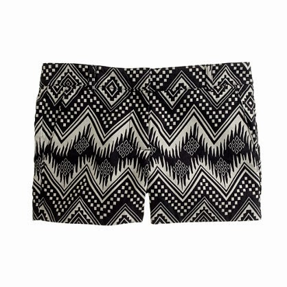 Diamond Ikat Short