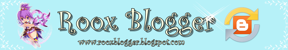 Roox Blogger