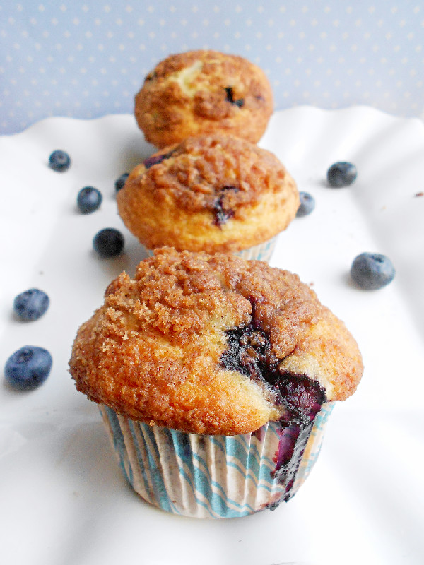 To Die For Blueberry Muffins - Confessions of a Confectionista
