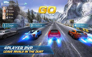 Screenshots of the Infinite racer: Dash and dodge for Android tablet, phone.