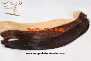 pre tape weft extensions