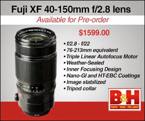 Fuji 40-15mm available for pre-order