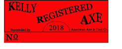 Kelly Registered Red Decal