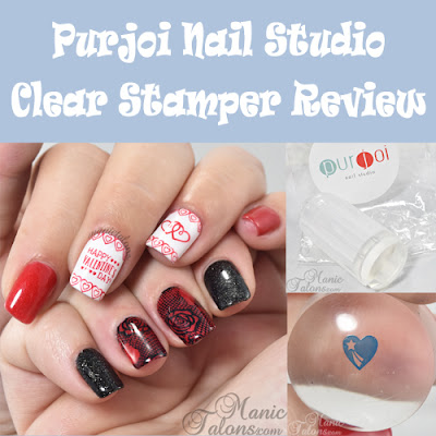 Purjoi Nail Studio Clear Stamper Review