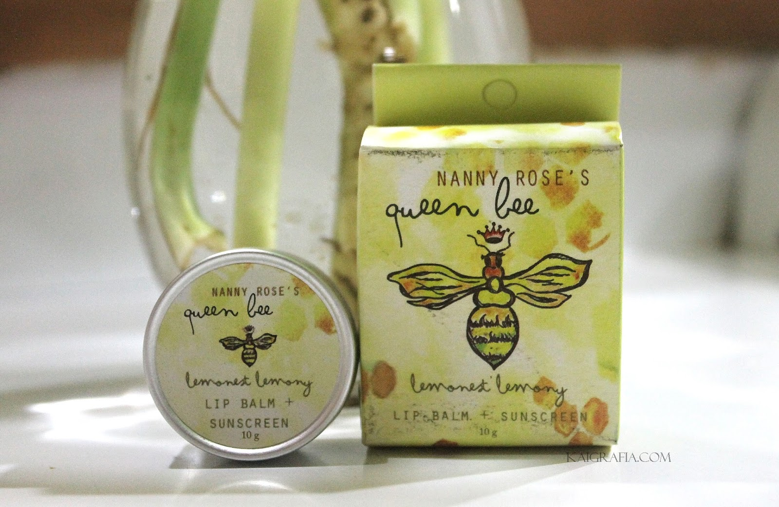 Nanny Rose Lemonest Lemony Lip Balm Review