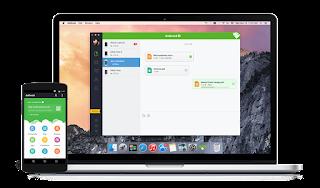 Transfer / Kirim file Android ke PC lewat WiFi