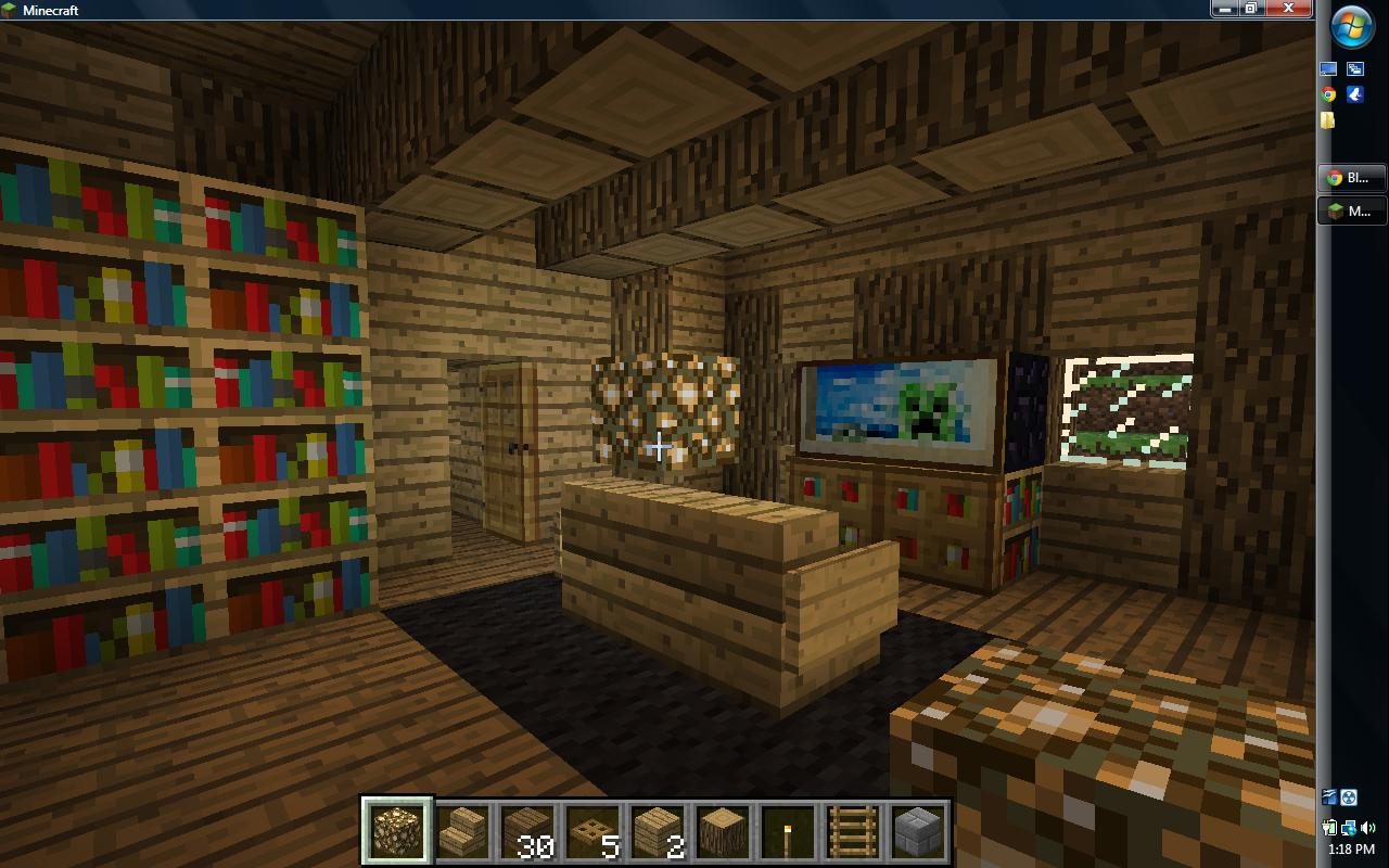 Minecraft living room designs joy studio design gallery for Minecraft lounge ideas