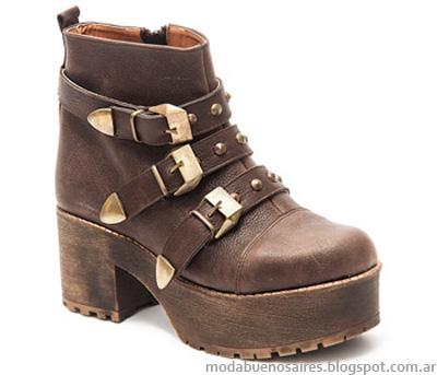 Borcegos botas invierno 2014.