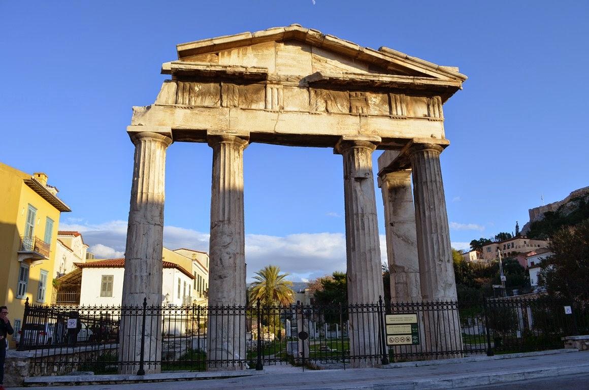 I Viaggi Di Raffaella Atene L 39 Agor Romana